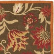 Product Image of Brown, Red (A) Floral / Botanical Area Rug