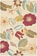 Product Image of Beige Red (A) Floral / Botanical Area Rug