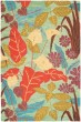 Product Image of Blue, Gold (A) Floral / Botanical Area Rug