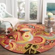 Product Image of Rust, Yellow (B) Floral / Botanical Area Rug