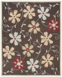 Product Image of Floral / Botanical Brown, Blue (A) Area Rug