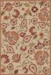 Product Image of Beige, Rust (A) Floral / Botanical Area Rug