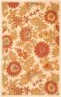 Product Image of Floral / Botanical Ivory, Orange (B) Area Rug