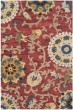 Product Image of Transitional Red (C) Area Rug