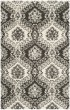 Product Image of Floral / Botanical Charcoal, Ivory (H) Area Rug