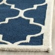 Product Image of Navy, Ivory (G) Moroccan Area Rug