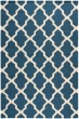 Product Image of Contemporary / Modern Navy Blue, Ivory (G) Area Rug