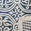 Product Image of Navy Blue, Ivory (G) Moroccan Area Rug