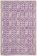 Product Image of Contemporary / Modern Purple, Ivory (K) Area Rug