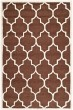 Product Image of Moroccan Dark Brown, Ivory (H) Area Rug