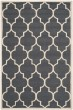 Product Image of Moroccan Dark Grey, Ivory (X) Area Rug