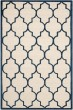 Product Image of Moroccan Ivory, Navy (Z) Area Rug
