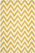 Product Image of Contemporary / Modern Gold, Ivory (Q) Area Rug