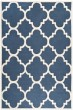 Product Image of Contemporary / Modern Navy, Ivory (G) Area Rug