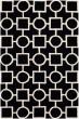 Product Image of Transitional Black, Ivory (E) Area Rug
