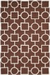 Product Image of Transitional Dark Brown, Ivory (H) Area Rug