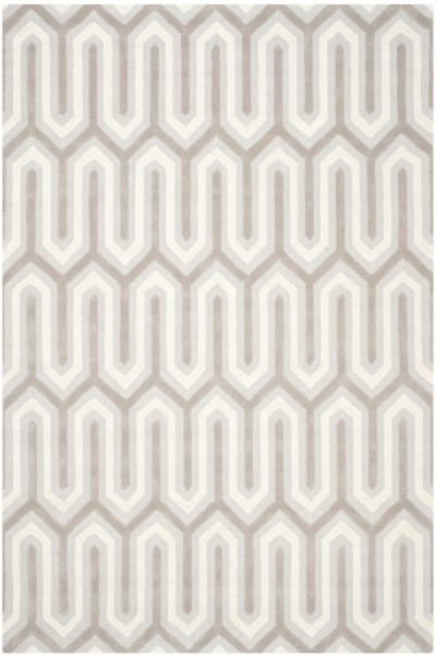 Light Blue, Green (E) Contemporary / Modern Area Rug