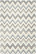 Product Image of Ivory, Blue (A) Contemporary / Modern Area Rug