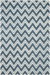Product Image of Contemporary / Modern Navy, Ivory (C) Area Rug