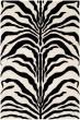 Product Image of Animals / Animal Skins Ivory, Black (Q) Area Rug