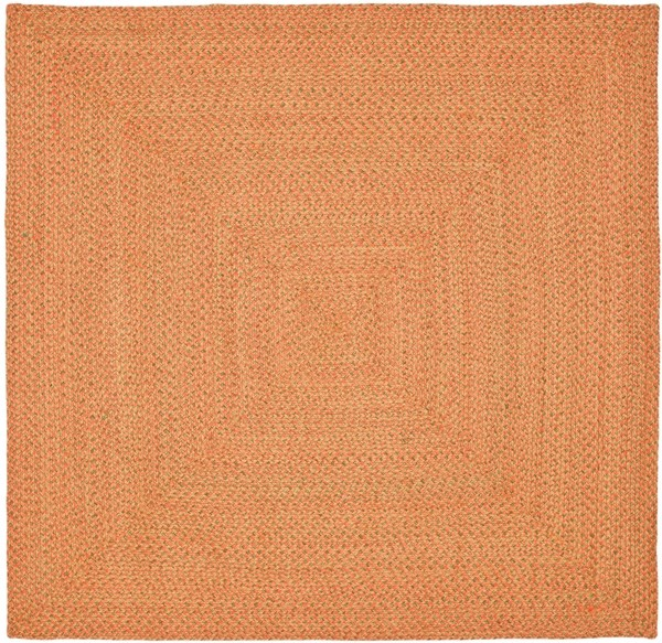 Rust, Orange (A) Country Area Rug