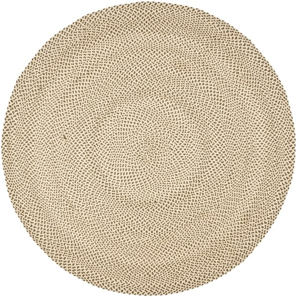 Beige, Brown (A) Country Area Rug