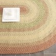 Product Image of Rust, Beige (A) Country Area Rug