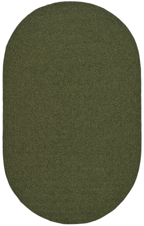 Green (A) Country Area Rug