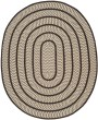 Product Image of Country Ivory, Dark Brown (E) Area Rug