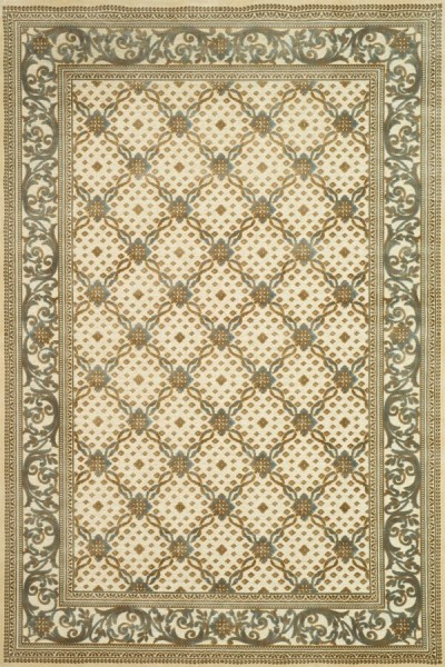 Creme (404) Traditional / Oriental Area Rug