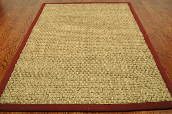 Natural Red (D) Rustic / Farmhouse Area Rug