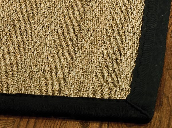Natural, Black (C) Rustic / Farmhouse Area Rug