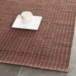 Product Image of Brown, Rust (A) Rustic / Farmhouse Area Rug