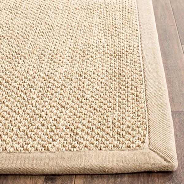 Maize, Linen (B) Rustic / Farmhouse Area Rug