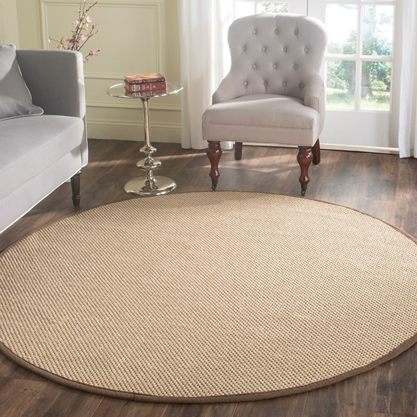 Maize, Brown (C) Natural Fiber Area Rug