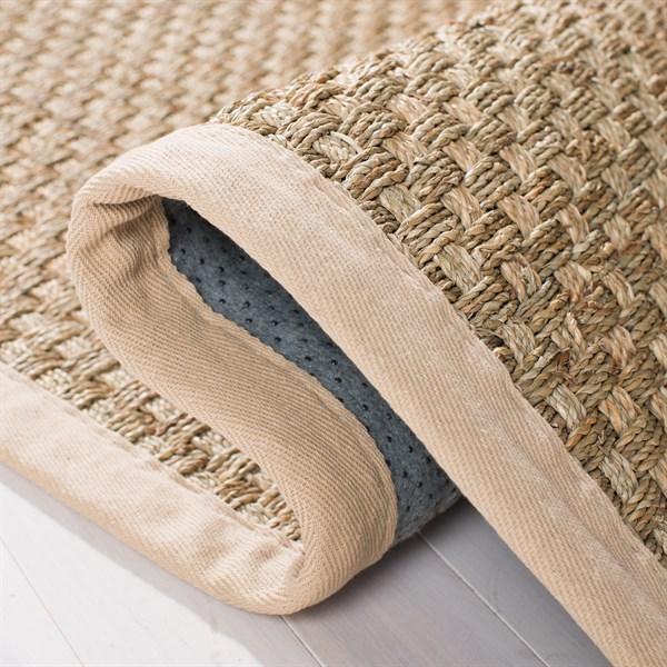 Natural, Beige (A) Natural Fiber Area Rug