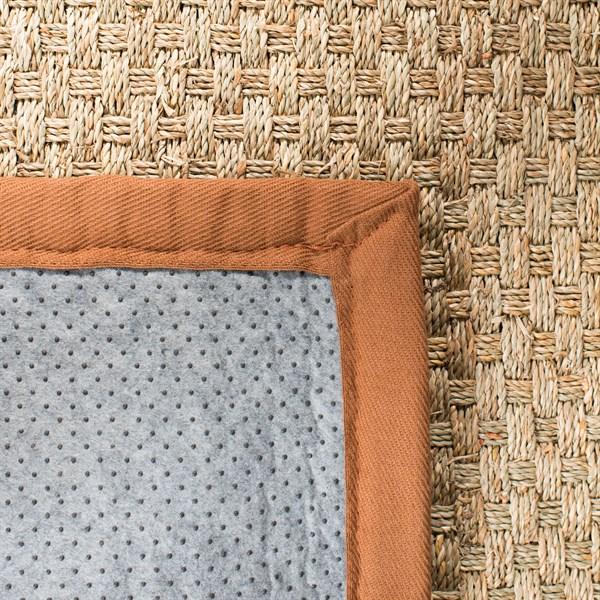 Natural, Brown (B) Rustic / Farmhouse Area Rug