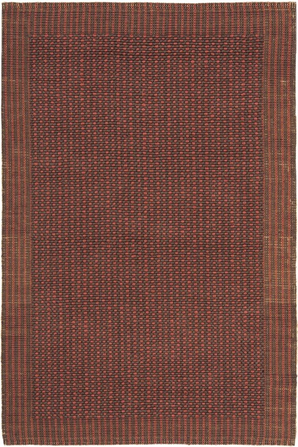 Brown, Rust (A) Rustic / Farmhouse Area Rug