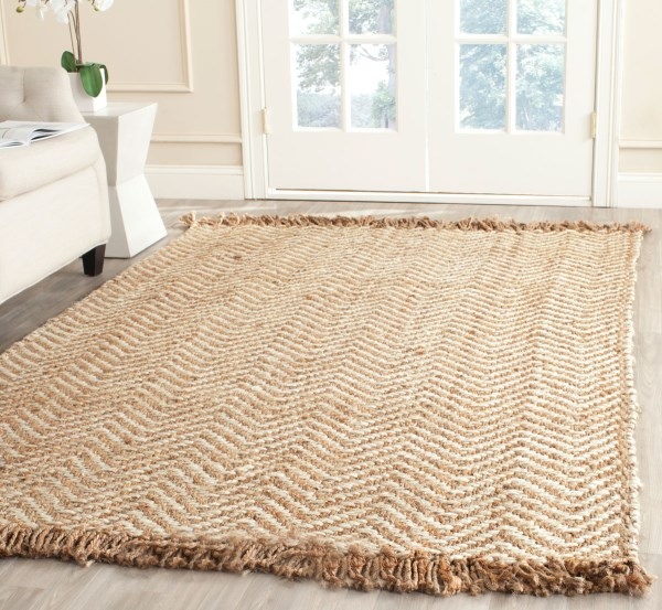 Bleach, Natural (A) Natural Fiber Area Rug