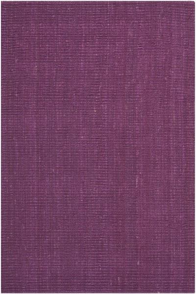 Purple (B) Natural Fiber Area Rug