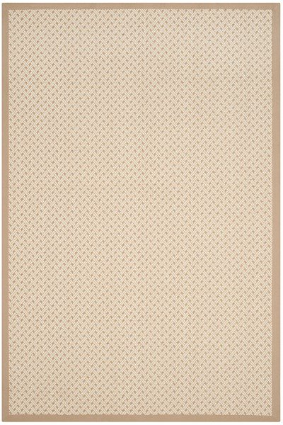 Ivory, Natural (A) Casual Area Rug