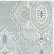 Product Image of Blue, Ivory (A) Damask Area Rug