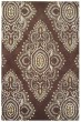 Product Image of Damask Brown, Ivory (B) Area Rug