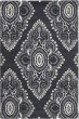 Product Image of Damask Dark Grey, Ivory (C) Area Rug