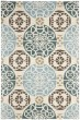 Product Image of Contemporary / Modern Beige, Blue (A) Area Rug