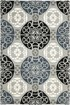 Product Image of Moroccan Grey, Black (D) Area Rug