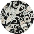 Product Image of Black (A) Paisley Area Rug