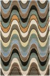 Product Image of Brown, Ivory (A) Contemporary / Modern Area Rug