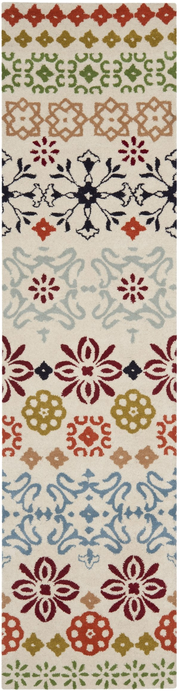 Ivory (A) Moroccan Area Rug