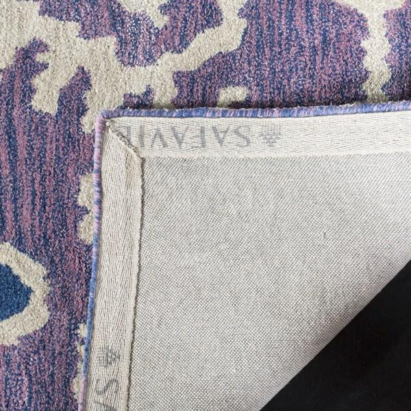 Lavender, Ivory (A) Southwestern / Lodge Area Rug